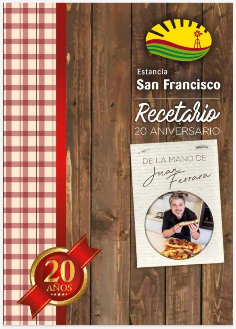 recetario Juan Ferrara Estancia San Francisco